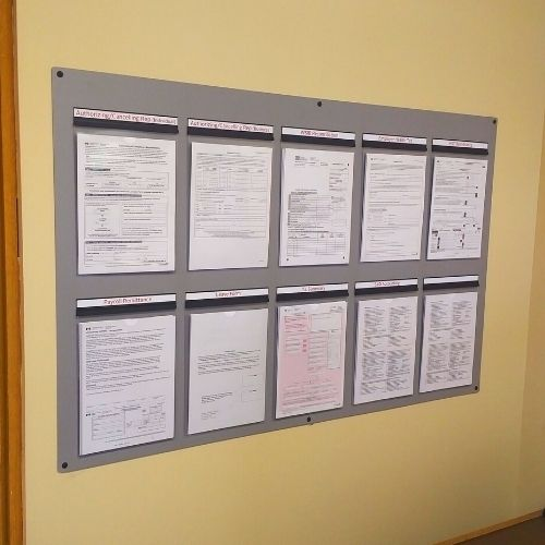 Health and Safety Boards 1
