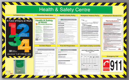 Health and Safety Board by VidPro